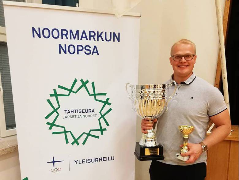 Tuomas Seppänen Nopsan vuoden yleisurheilija