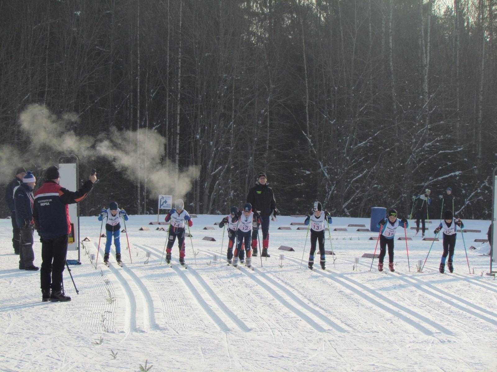 Hiihtokoulun talvikausi käynnistyy vuoden alussa