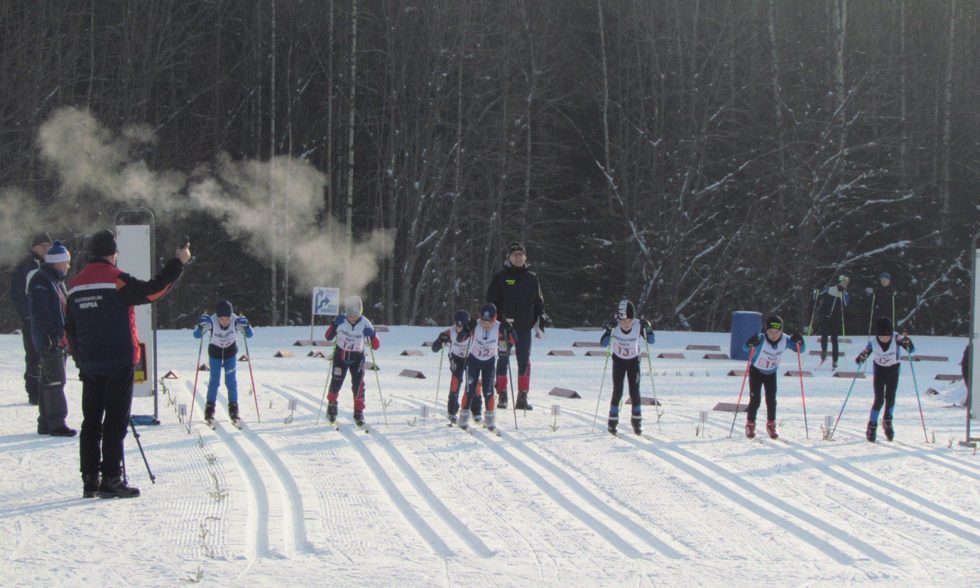 Nopsan 80 v juhlahiihdot ja Satakunnan ja Varsinais-Suomen pm-kilpailut 13.-14.2. peruttu