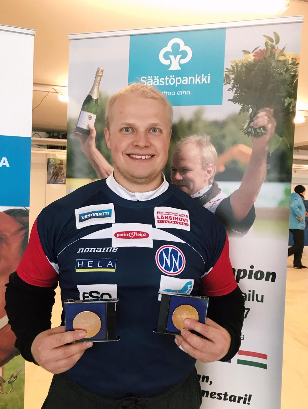 Tuomas Seppänen 73,10 (kkk) Lahdessa