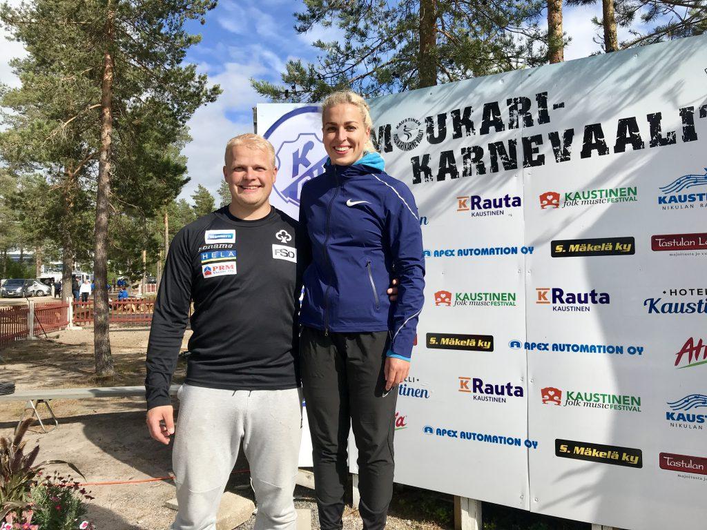 Tuomas Seppänen kauden parhaaseensa Kaustisella!