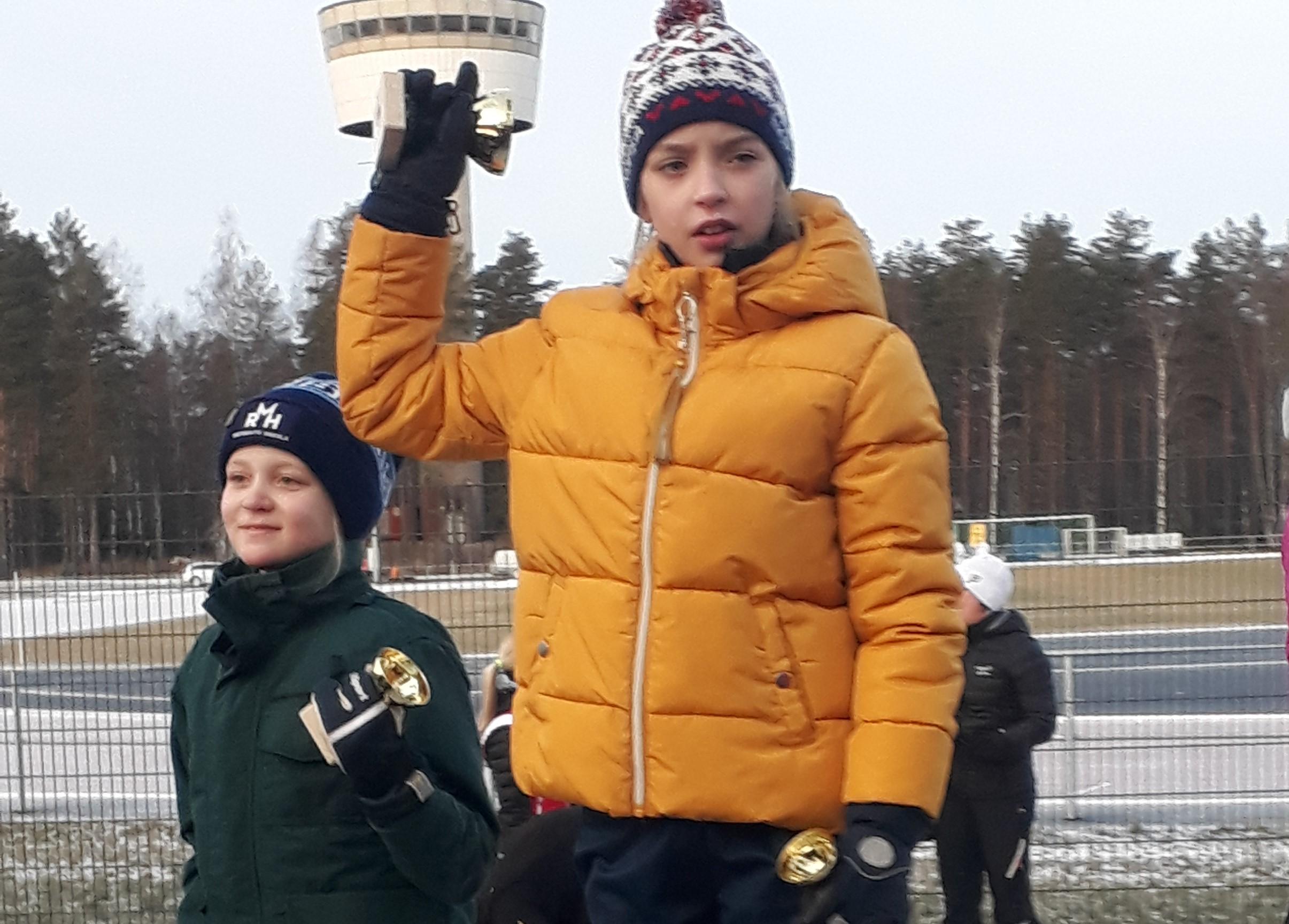 Nopsalaisia podiumilla Kankaanpään Rise Race Tourilla