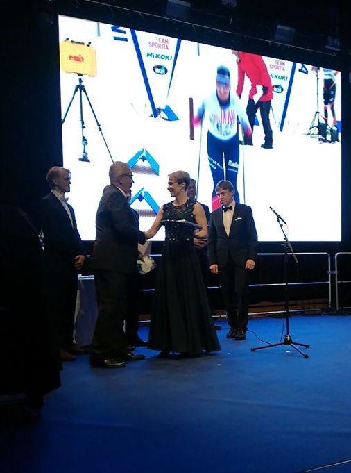 Kati Venäläinen palkittiin Satakunnan Urheilugaalassa