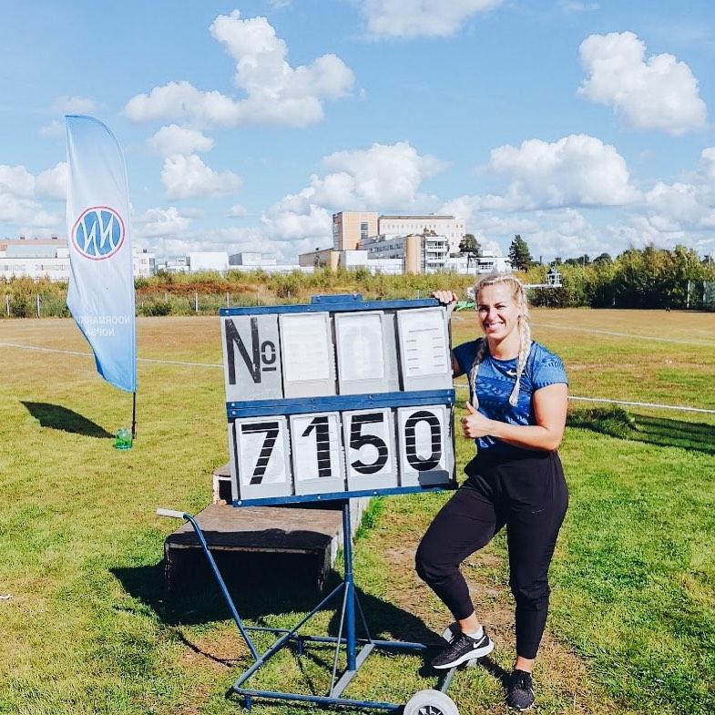 Katille Viron ennätys 71,50!