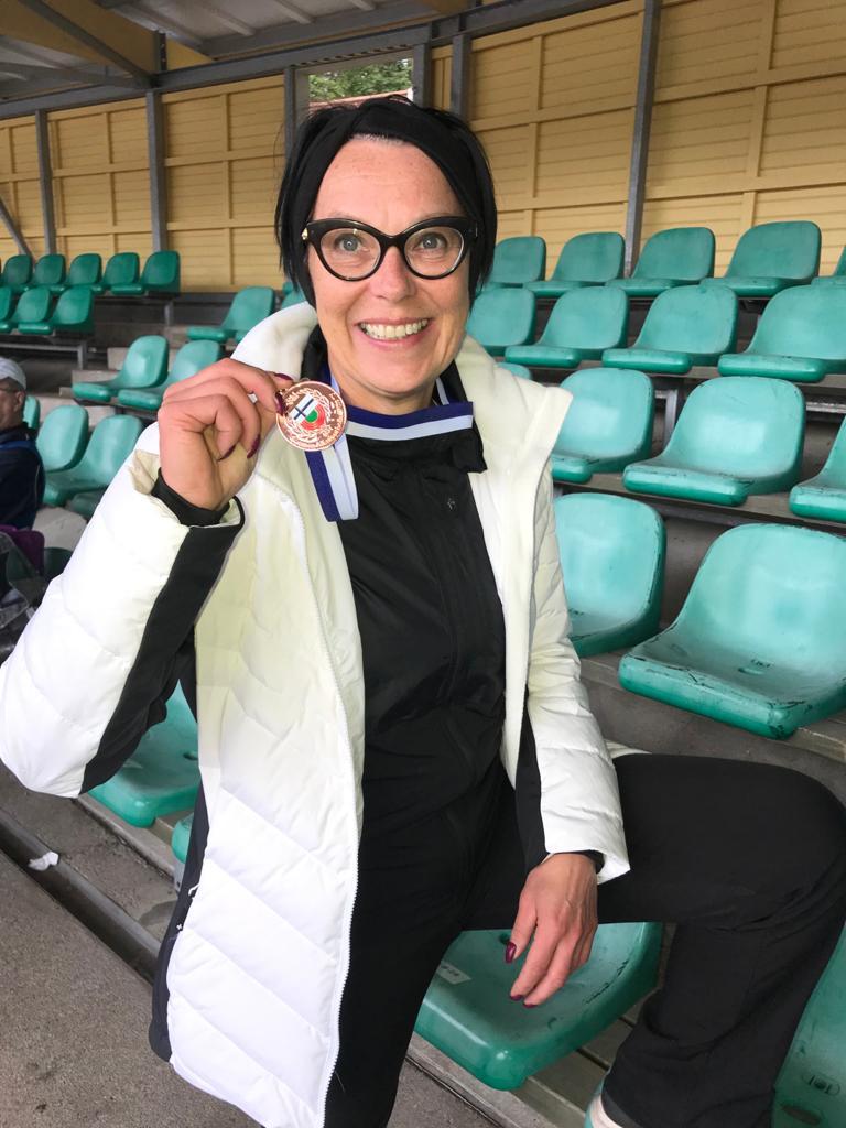 SM-mitali tuli Jyväskylästä