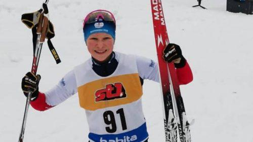 Emilia jatkoi voittoisia hiihtoja Lahdessa