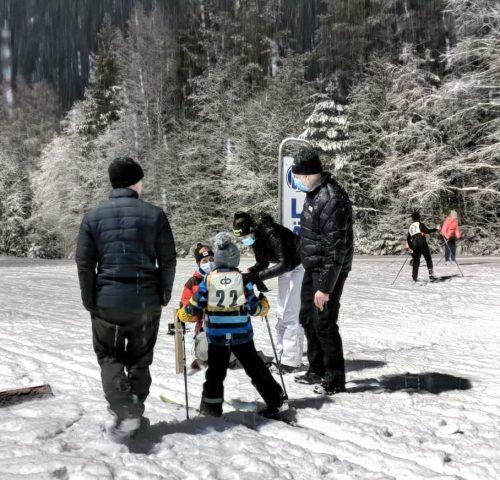 Ensimmäiset hiihtokisat kisailtu