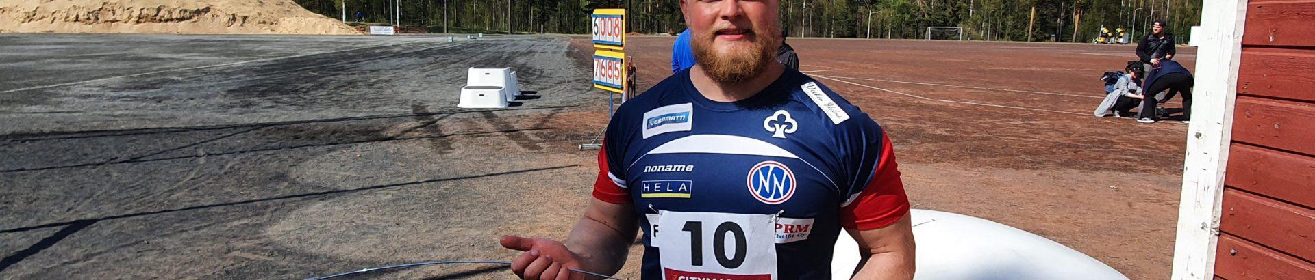 Tuomakselle hieno kauden avaus Kankaanpäässä!